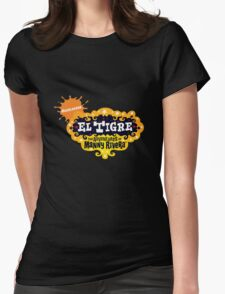 El Tigre The Adventures of Manny Rivera Womens Fitted T-Shirt