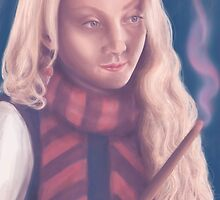 Luna Lovegood by android-sheep