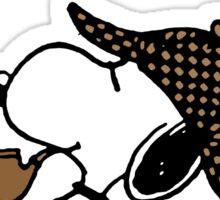 Sherlock Snoopy Sticker