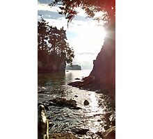 Pacific Coast, Crescent Bay Photographic Print