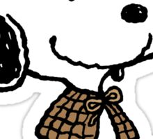 Detective Snoopy Holmes Sticker