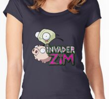 Invader Zim Women's Fitted Scoop T-Shirt