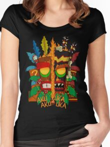 Tiki Women's Fitted Scoop T-Shirt