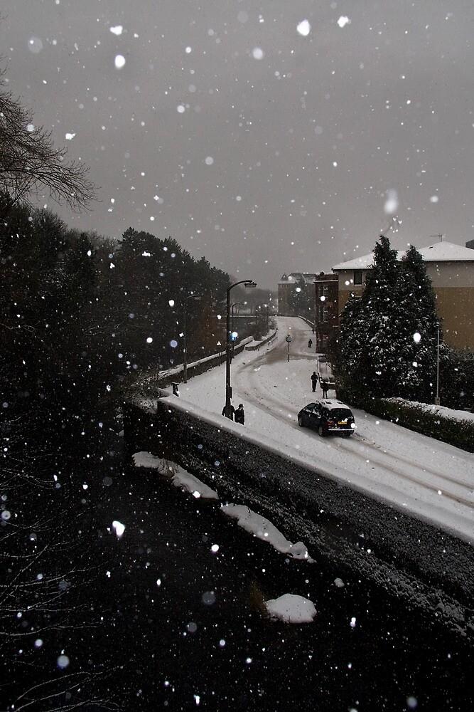 Edinburgh Snow 2010 by Chris Clark
