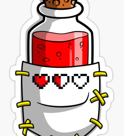 A Hero's Red Potion Sticker