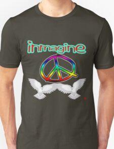 PEACE / IMAGINE Unisex T-Shirt
