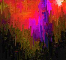 ABSTRACT- BABYLON HAS FALLEN by Sherri     Nicholas