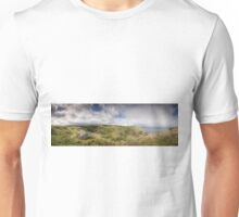 Mussenden Temple and the Black Glen Unisex T-Shirt