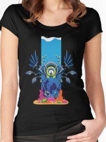 Professor Henry Winklebaum's Underwater Quest Women's Fitted Scoop T-Shirt