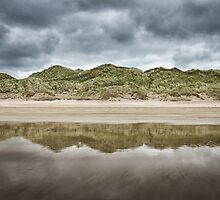 Dune Reflection by Nigel R Bell