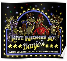 Five Nights at Banjo's Poster