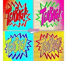 TEABAG HIT! Anachrotees' Design Photographic Print