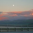 Snowdonia National Park from Bangor Pier, North Wales, UK by Michaela1991