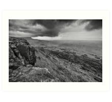 Binevenagh Storm Clouds Art Print