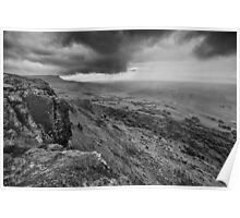 Binevenagh Storm Clouds Poster
