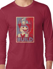 BUILD Long Sleeve T-Shirt