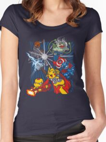 Avengermon! Women's Fitted Scoop T-Shirt