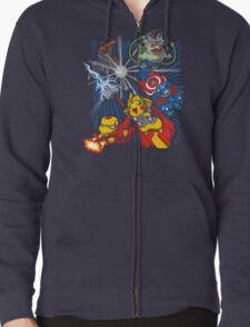 Avengermon! Zipped Hoodie
