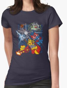 Avengermon! Womens Fitted T-Shirt