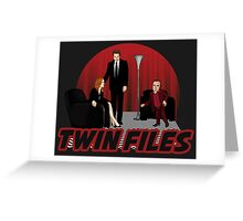 Twin Files Greeting Card