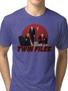 Twin Files Tri-blend T-Shirt