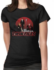 Twin Files Womens Fitted T-Shirt