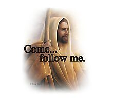 Come... follow me. Photographic Print
