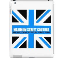 maximum britain blue iPad Case/Skin