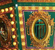 Carousel Reflections....Pojo's, in Boise, Idaho by trueblvr