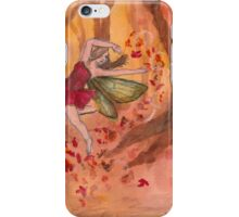 Fall Fairy iPhone Case/Skin