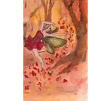 Fall Fairy Photographic Print