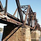 6th St Rail Bridge, GA to SC by yakkphat