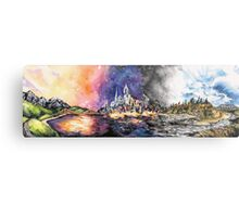 Lucid Cartography Watercolour Painting (Cityscape) Metal Print