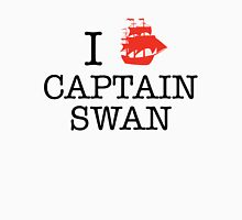 I Ship Captain Swan Women's Fitted Scoop T-Shirt