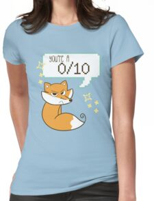 """You're A 0/10"" Fox Womens Fitted T-Shirt"
