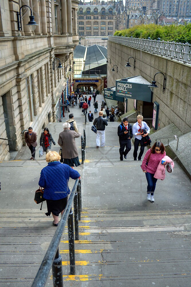 Waverley Steps by Tom Gomez