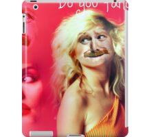 Debby harry Keith lemon = Disaster iPad Case/Skin