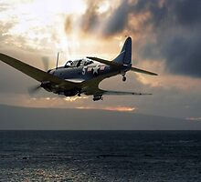 SBD Dauntless over the Pacific by Need4Speed