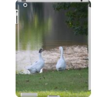 MR & MRS GOOSE iPad Case/Skin