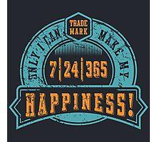 Motivational - Happiness Photographic Print