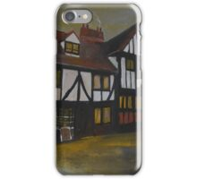 York, Christmasy Shambles iPhone Case/Skin