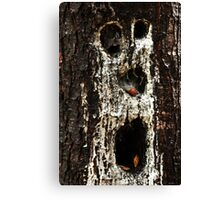 Woodland Ghoul Canvas Print