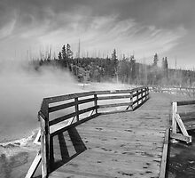 Yellowstone Park - West Thumb Geyser Basin by Frank Romeo