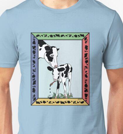 Cow Artist, Cow Art T-Shirt