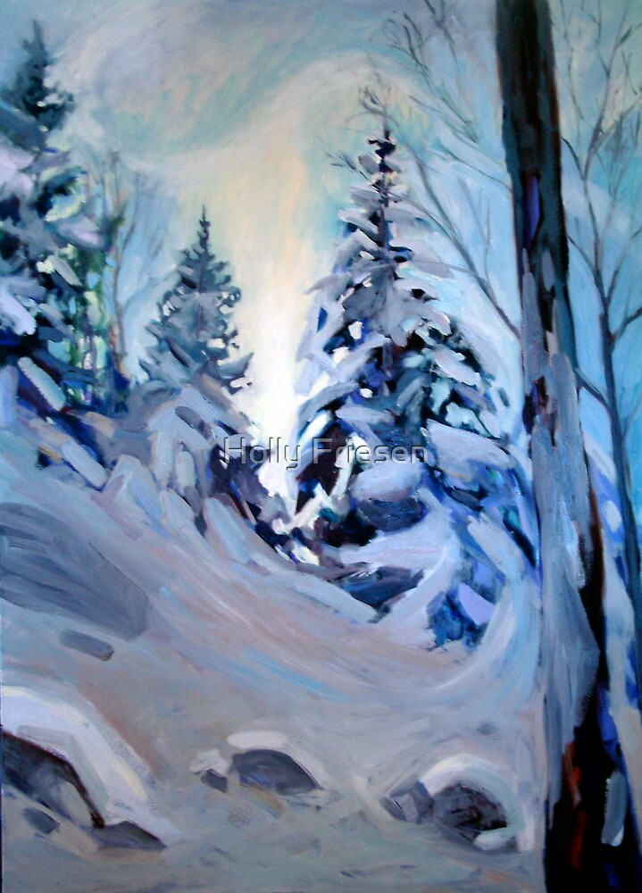 Snow Vision by Holly Friesen