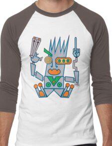 Robo Hobo Men's Baseball ¾ T-Shirt