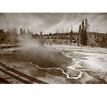 Yellowstone Park Photographic Print