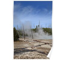 Yellowstone National Park - Mountain Slope Poster