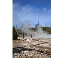 Yellowstone National Park - Mountain Slope Photographic Print