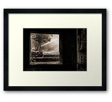 Angkor Wat - Part 3 Framed Print